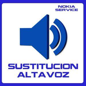 Sustitución de Altavoz Nokia