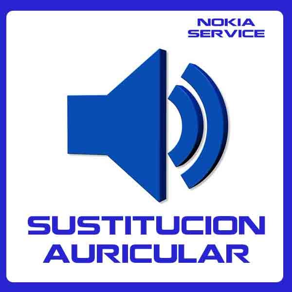Sustitución de Auricular Nokia