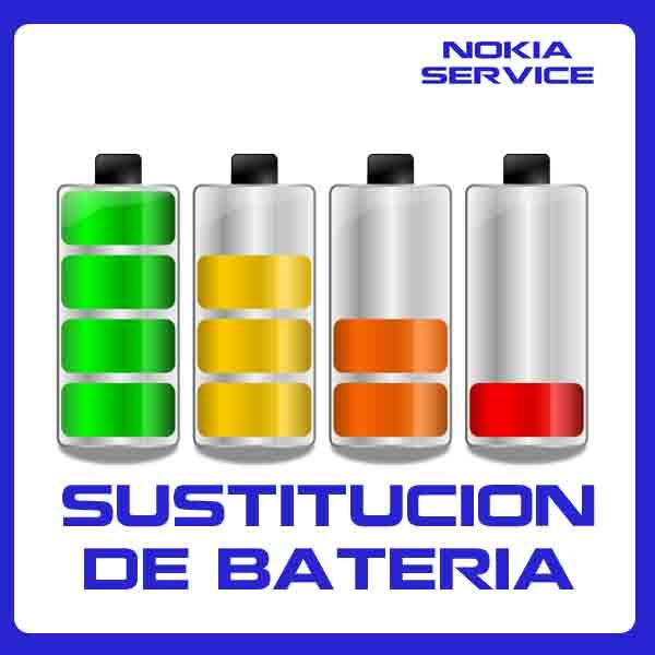 Sustitución de Batería Nokia