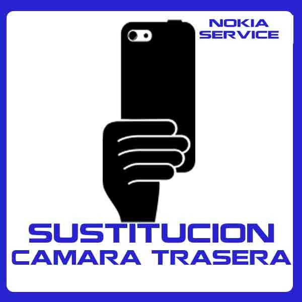 Sustitución Cámara Trasera Nokia