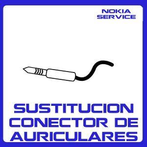 Sustitución Conector de Auriculares Nokia