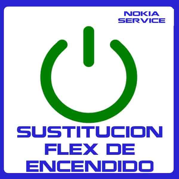 Sustitución Flex de Encendido Nokia