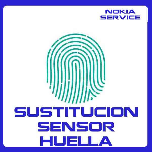 Sustitución Sensor Huella Nokia