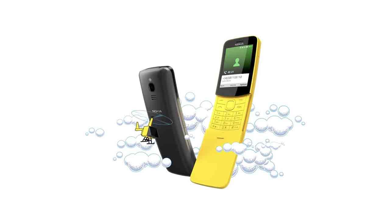 Nokia 8110 4G, un viaje a la nostalgia